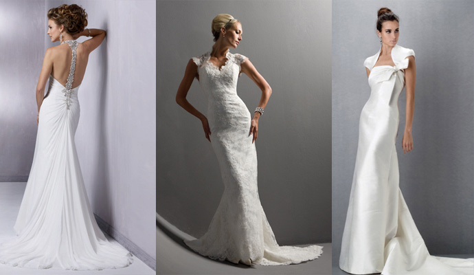 Close-cut Wedding Dress Fashion