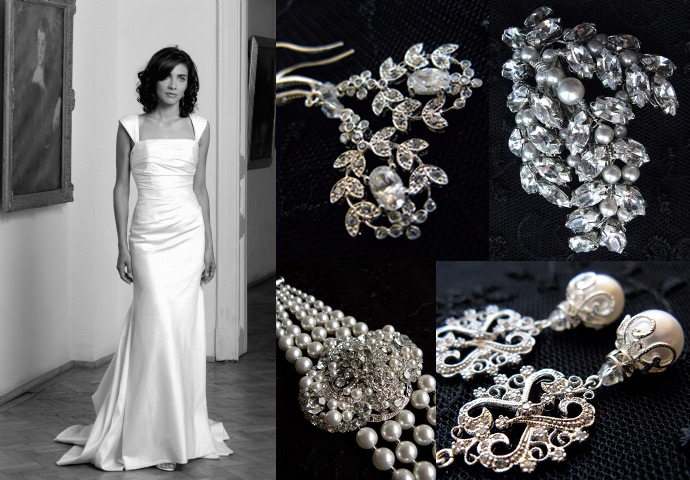 Wedding Jewellery For A Square Neckline Jewellery Series