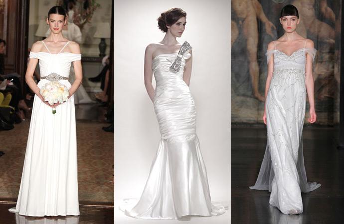 Свадебные платья с бисером