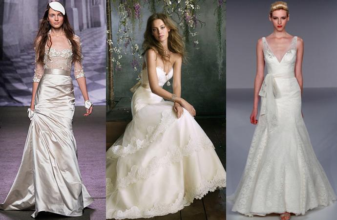 Свадебные платья со шнуровкой