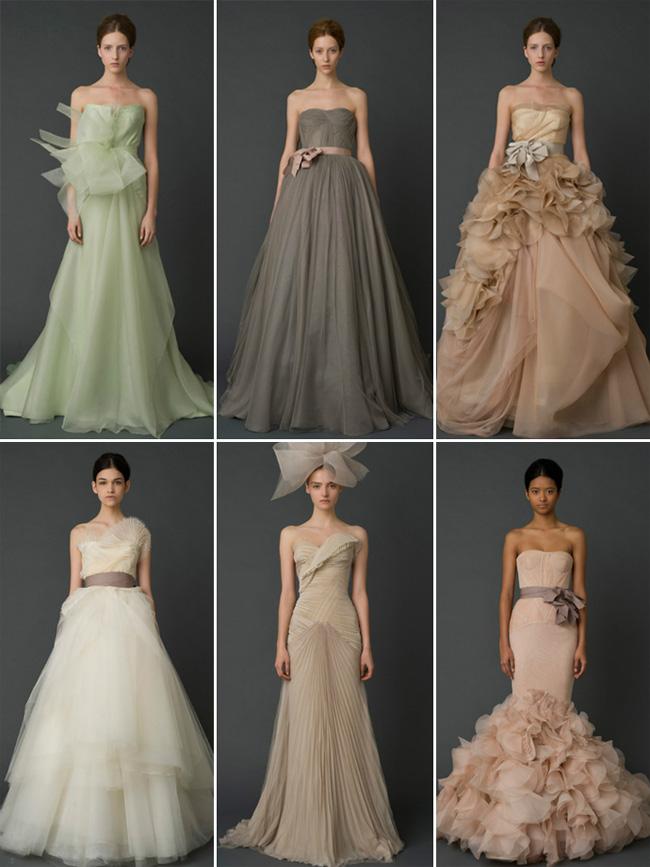 Not White Wedding Dresses 34 Nice The Vera Wang Fall