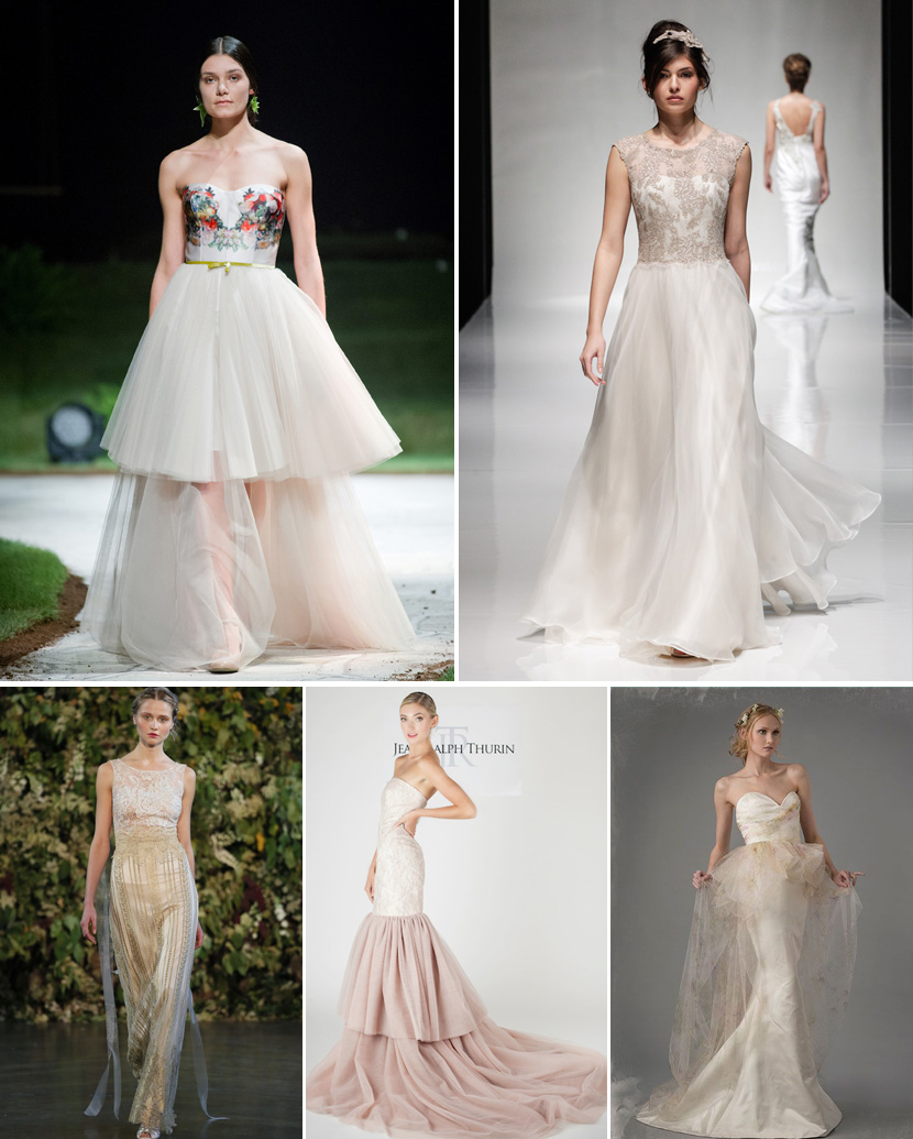 Wedding Gown Trends: Top 10 Wedding Dress Trends For 2015