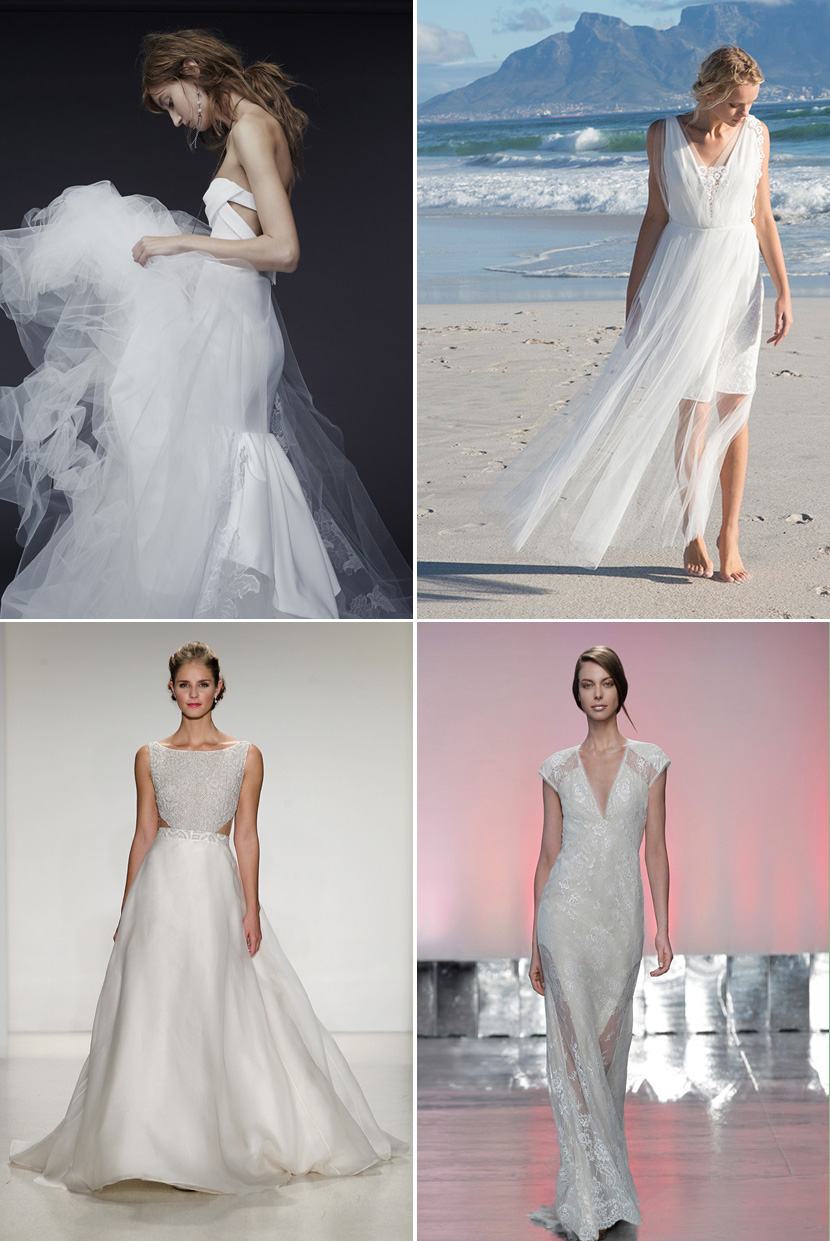 Keyhold Wedding Dresses