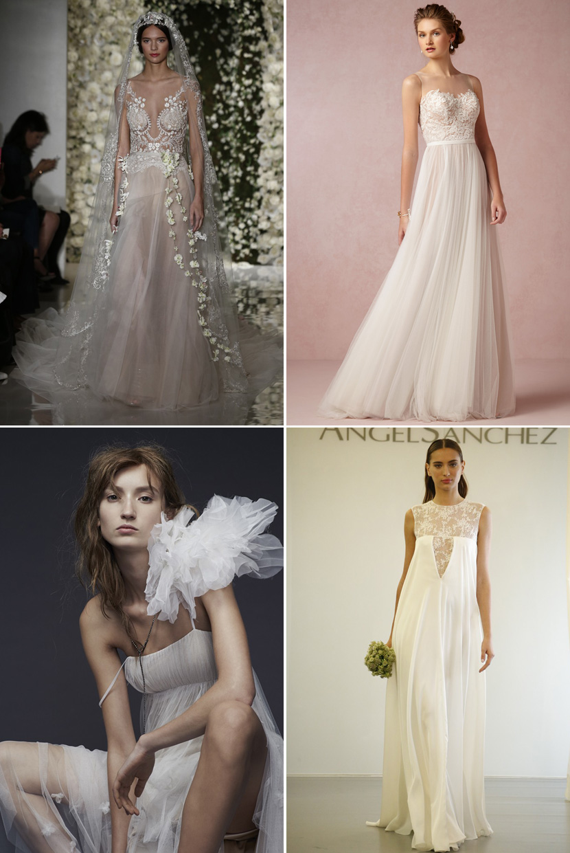 Lace Wedding Dresses Vera Wang