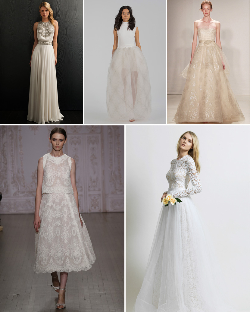 Textured Wedding Dresses