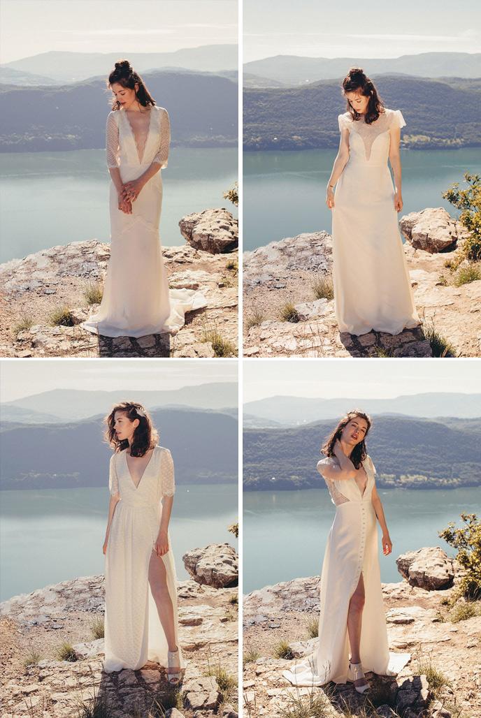 Wedding Dress Websites 56 Stunning Elise Hameau Collection
