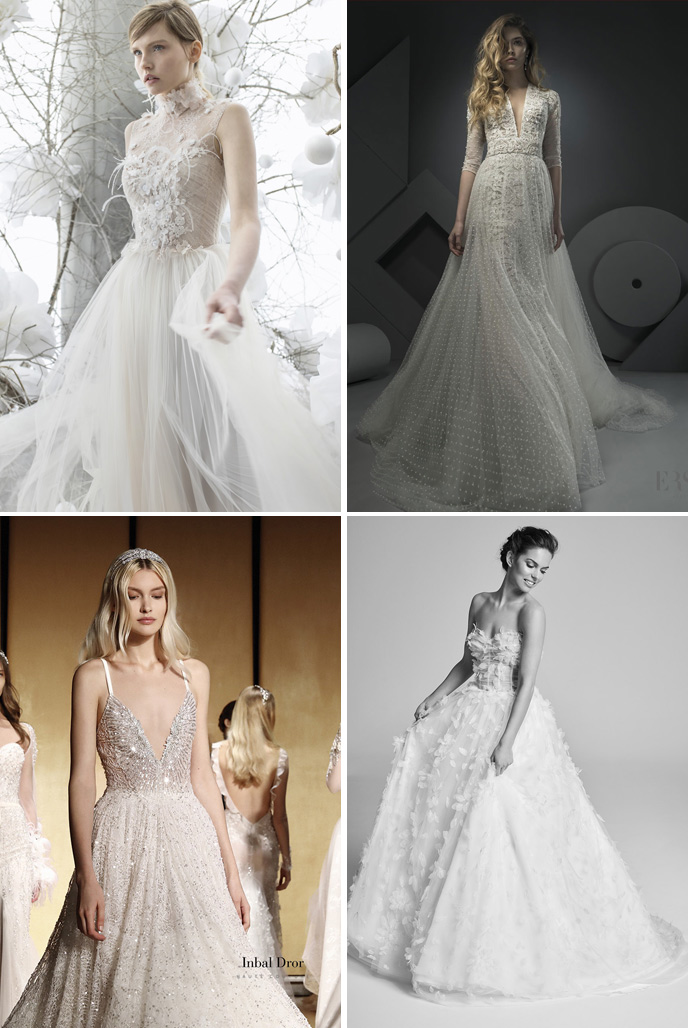 Wedding Dress Trends 2018 - Heavy Detailing