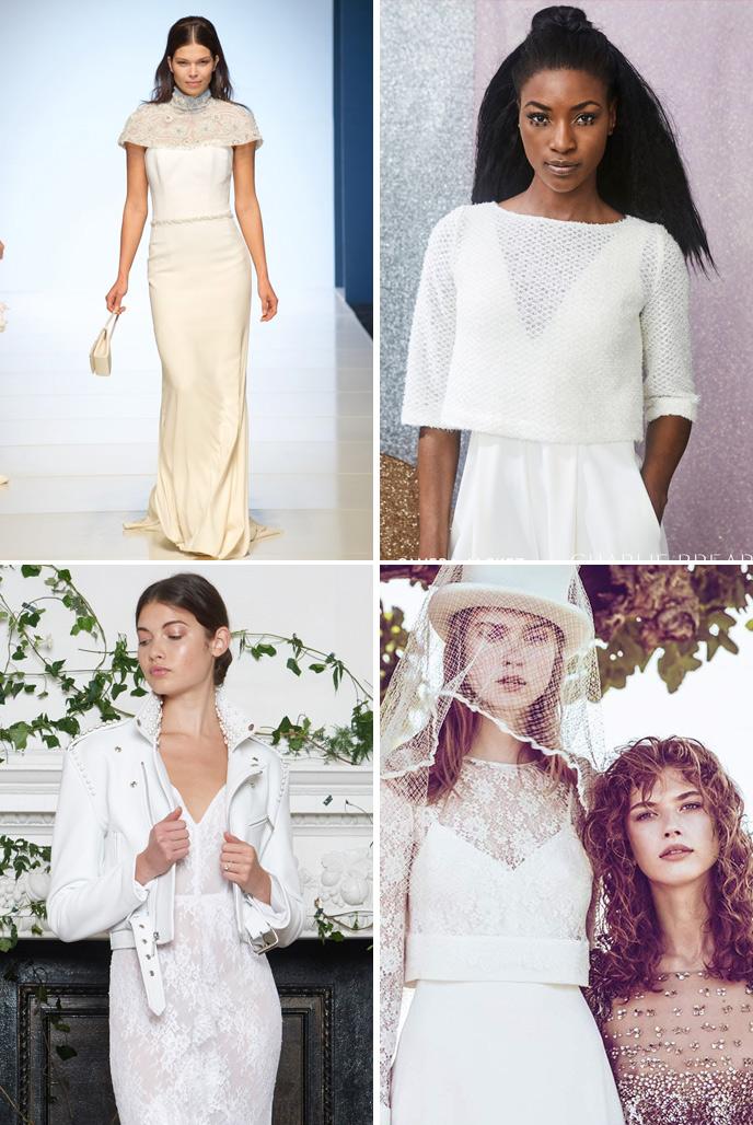 Wedding Dress Trends 2018 - Outerwear
