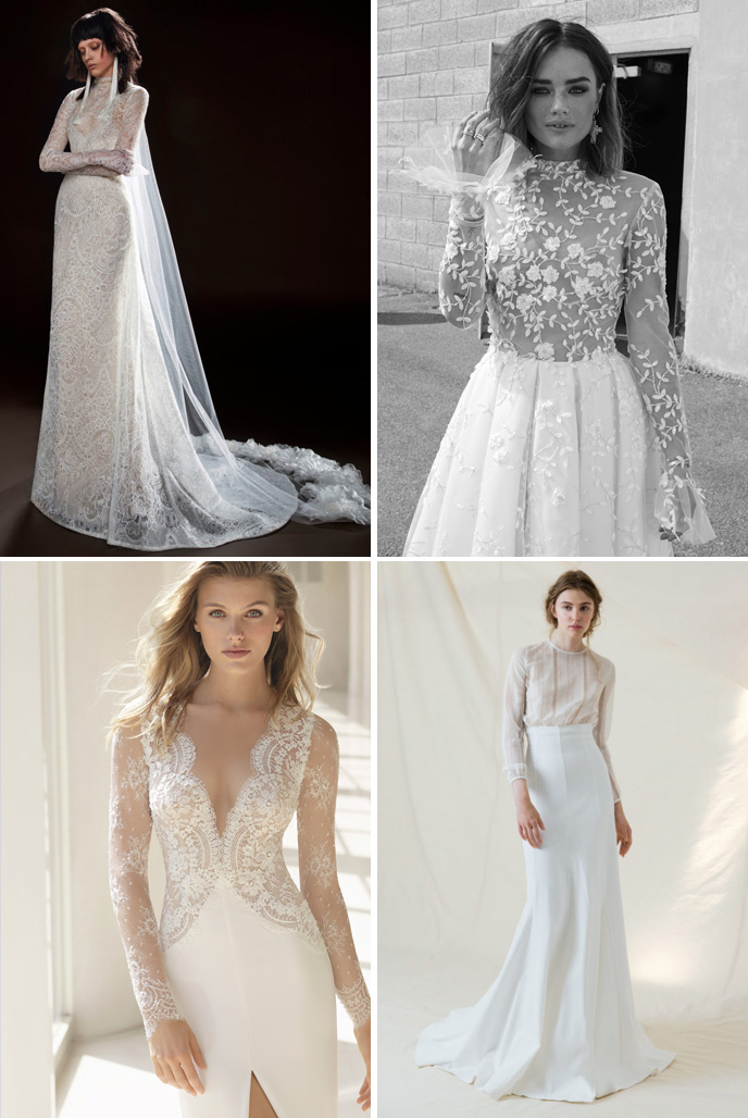 Wedding Dress Trends 2018 - Sheer