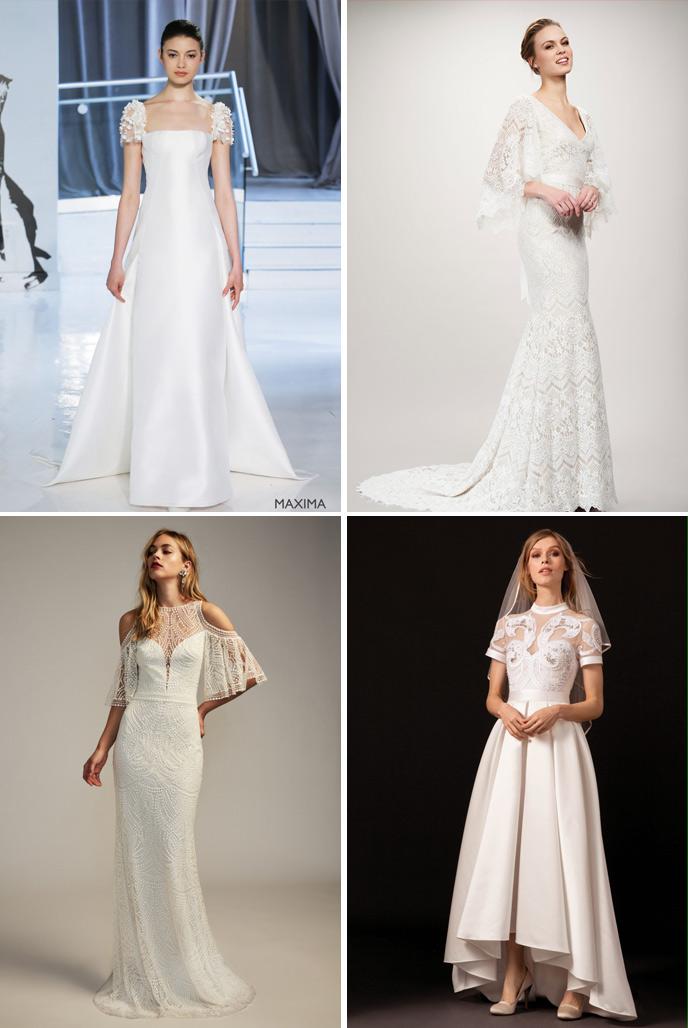 Wedding Dress Trends 2018 - Sleeves